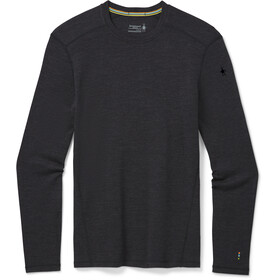 Smartwool Merino 250 Maglietta Girocollo Baselayer Uomo, charcoal heather